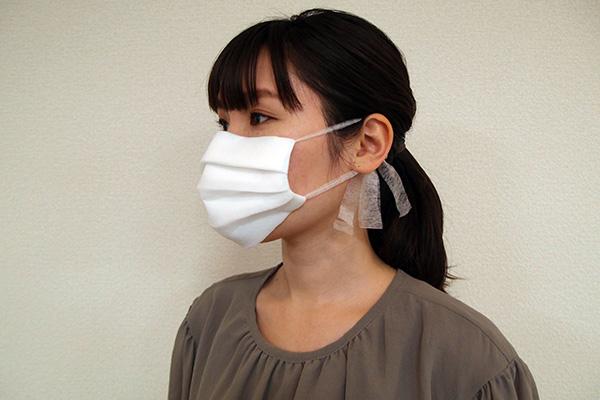 作り方 縫わ ない マスク の